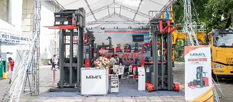 Xe nâng MiMA hàng tại kho giá ưu đãi