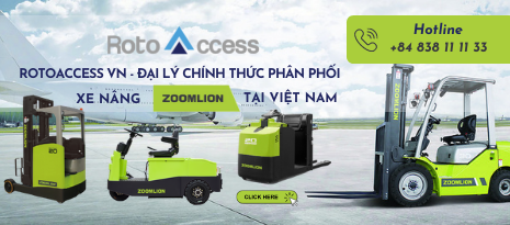RotoAccess VN - Đại Lý Xe Nâng Zoomlion Tại Việt Nam