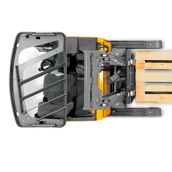 Xe Nâng Điện Reach Truck Jungheinrich ETV 114
